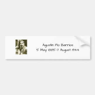 Adesivo Para Carro Bairros de Agustin Pio