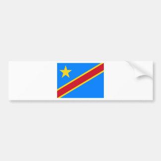 Adesivo Para Carro Baixo custo! Bandeira de Congo