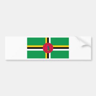Adesivo Para Carro Baixo custo! Bandeira de Dominica