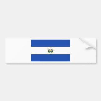 Adesivo Para Carro Baixo custo! Bandeira de El Salvador