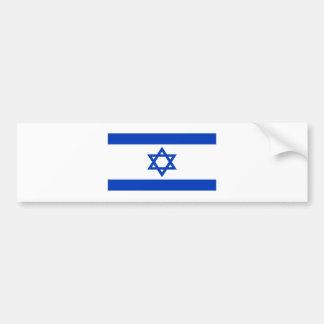 Adesivo Para Carro Baixo custo! Bandeira de Israel