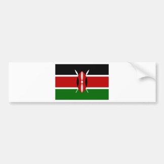 Adesivo Para Carro Baixo custo! Bandeira de Kenya