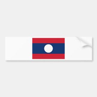 Adesivo Para Carro Baixo custo! Bandeira de Laos