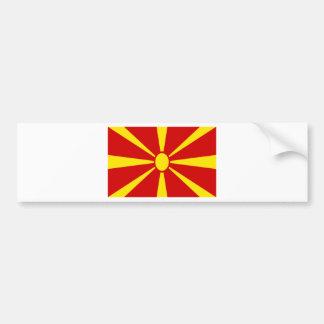 Adesivo Para Carro Baixo custo! Bandeira de Macedónia
