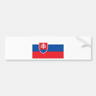 Adesivo Para Carro Baixo custo! Bandeira de Slovakia
