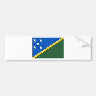 Adesivo Para Carro Baixo custo! Bandeira de Solomon Island