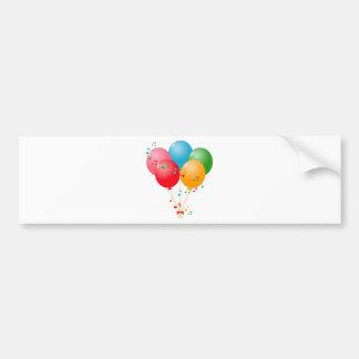 Adesivo Para Carro Balões coloridos
