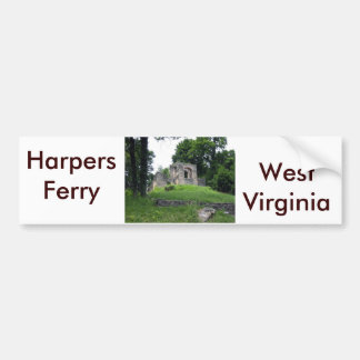 Adesivo Para Carro Balsa dos harpistas, West Virginia