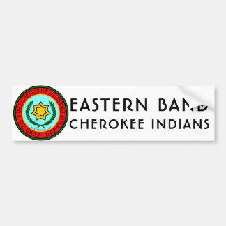 Adesivo Para Carro Banda oriental de indianos Cherokee