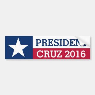 Adesivo Para Carro Bandeira 2016 de Texas da eleição do presidente