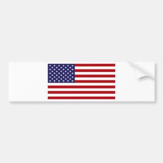 Adesivo Para Carro Bandeira americana - bandeira dos Estados Unidos -