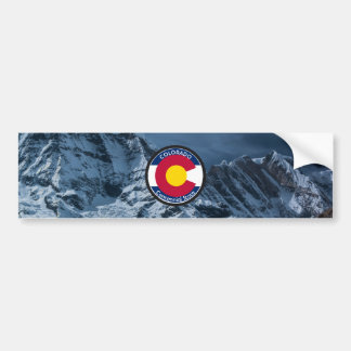 Adesivo Para Carro Bandeira da circular de Colorado