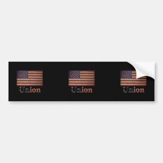 Adesivo Para Carro Bandeira da guerra civil dos EUA do exército de