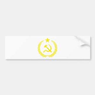 Adesivo Para Carro Bandeira da guerra fria de Communiste