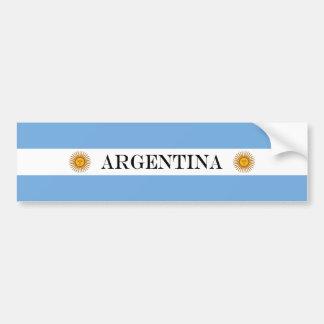 Adesivo Para Carro Bandeira de Argentina
