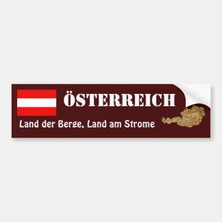 Adesivo Para Carro Bandeira de Áustria + Autocolante no vidro