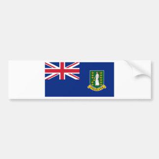 Adesivo Para Carro Bandeira de British Virgin Islands