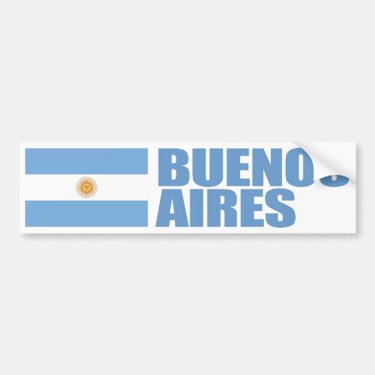 Adesivo Para Carro Bandeira de Buenos Aires, Argentina