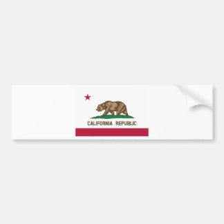 Adesivo Para Carro Bandeira de Califórnia