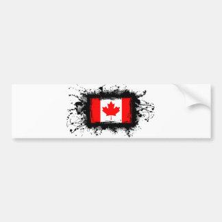 Adesivo Para Carro Bandeira de Canadá