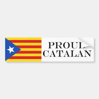 Adesivo Para Carro Bandeira de Catalonia