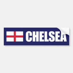 c518ce32dfbe0 Adesivo Para Carro Bandeira de Chelsea Inglaterra