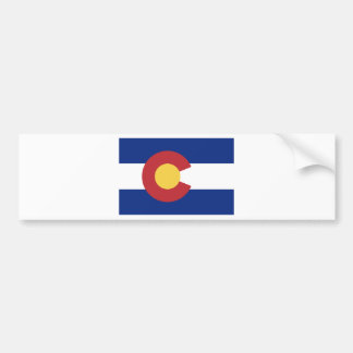 Adesivo Para Carro Bandeira de Colorado