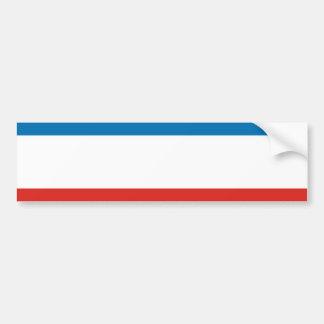Adesivo Para Carro Bandeira de Crimeia