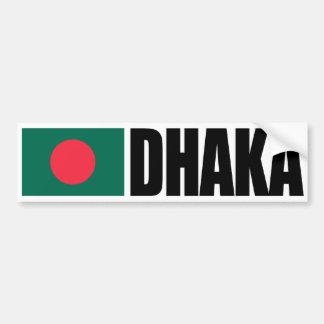 Adesivo Para Carro Bandeira de Dhaka Bangladesh