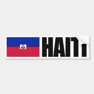 Adesivo Para Carro Bandeira de Haiti