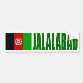 Adesivo Para Carro Bandeira de Jalalabad, Afeganistão
