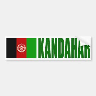 Adesivo Para Carro Bandeira de Kandahar, Afeganistão