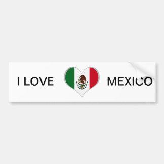 Adesivo Para Carro Bandeira de México