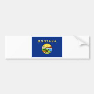 Adesivo Para Carro Bandeira de Montana