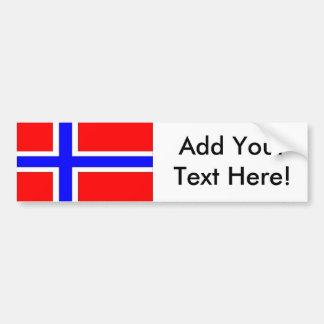 Adesivo Para Carro Bandeira de Noruega