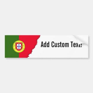 Adesivo Para Carro Bandeira de Portugal