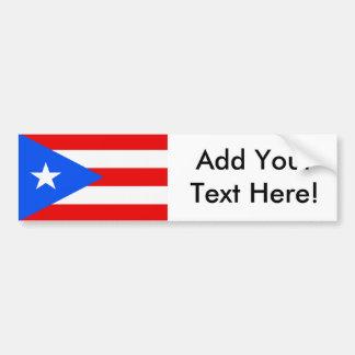 Adesivo Para Carro Bandeira de Puerto Rico