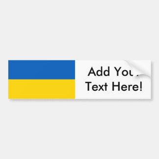 Adesivo Para Carro Bandeira de Ucrânia