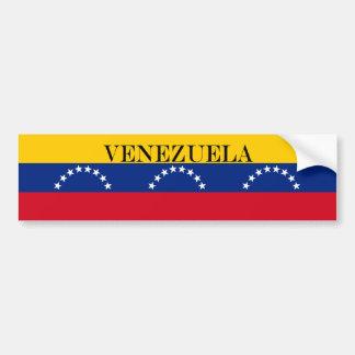 Adesivo Para Carro Bandeira de Venezuela