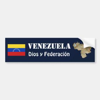 Adesivo Para Carro Bandeira de Venezuela + Autocolante no vidro