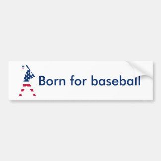 Adesivo Para Carro Bandeira do americano do basebol de América
