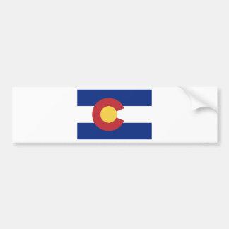 Adesivo Para Carro Bandeira do estado de Colorado