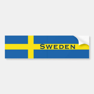 Adesivo Para Carro Bandeira do sueco da suecia