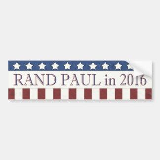 Adesivo Para Carro Bandeira dos Estados Unidos de Paul 2016 da margem
