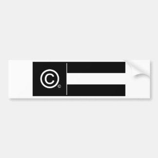 Adesivo Para Carro Bandeira incorporada do logotipo
