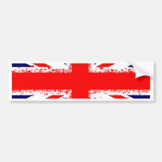Adesivo Para Carro Bandeira Reino Unido de Londres do jaque de união