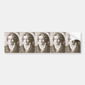 Adesivo Para Carro Beethoven no Sepia