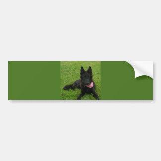 Adesivo Para Carro Belgian_Shepherd_Groenendael_puppy