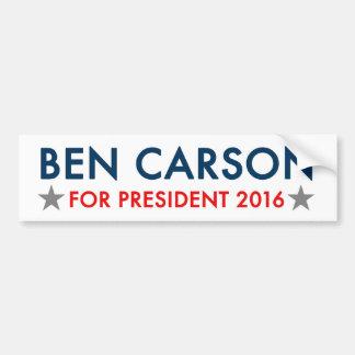 Adesivo Para Carro Ben Carson para o autocolante no vidro traseiro