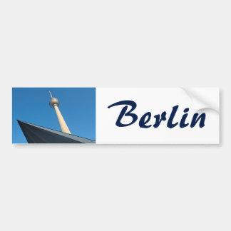 Adesivo Para Carro Berlim Fernsehturm